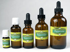 Peppermint Pure essential oil 5,10,15(1/2),30(1oz),60(2oz),120(4oz),240ml(8oz)