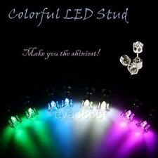 1 pair New Multi-Color optional LED Stud earring for Birthday Christmas Party