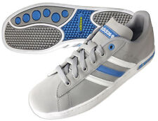 ADIDAS DERBY II K  SPORTS TRAINERS SHOE GREY JUNIOR KIDS SIZES 4 - 5.5