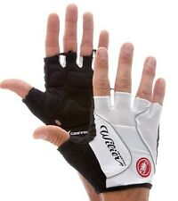 Cycling Bike Gloves Short finger Black & White silicon foam size M, L,XL