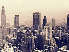 """Old New York""  CANVAS or PRINT WALL ART"