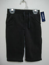 OLD NAVY Girl's Charcoal Gray Fleece Pants Size 0-3 mos,3-6 mos,6-12 mos NWT