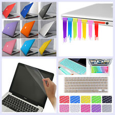 "4in1 Rubberized matt Hard Case+Plug+KB Cover+LCD film for Air 13"" A1466/A1369"