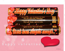 Personalised VALENTINE'S DAY Rolos - Ideal Chocolate Gift to show your love