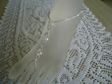 Barefoot Sandals ~Beach-Wedding ~ Bridal / Bridesmaid  ~ Crystal Glass Beads AB