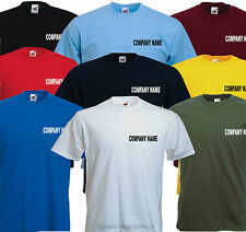 Create your own Company Business Personalised t shirts custom printed