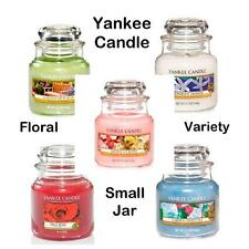 Yankee Candle FLORAL 3.7oz Small Jar VARIETY
