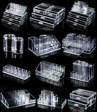 cosmetic organiser make up case lipstick holder Acrylic clear organizer drawer