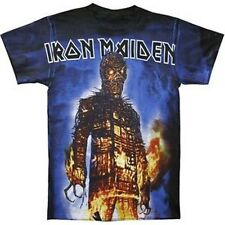 Iron Maiden Wicker Man All Over Shirt SM, MD, LG, XL New