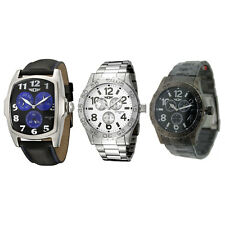 I by Invicta Men's Sport Watches Leather, Stainless Steel, or Black Gunmetal