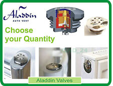 ALADDIN SELF BLEEDING VALVES AUTO HV30 CHROME RADIATOR AUTOVENT ENERGY SAVING