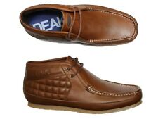 BRAND NEW MENS NICHOLAS DEAKINS KEANE LEATHER BOOTS - TAN - ALL SIZES SALE