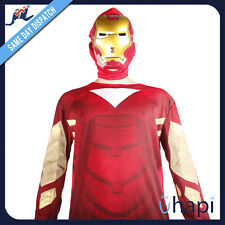 Iron Man Ironman Costume LED light Mask All Sizes Available For Boys Mens Party