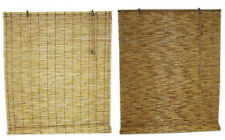 Window Blinds/Shades Reed Roll up Choose from 2 Colors and 3 Sizes