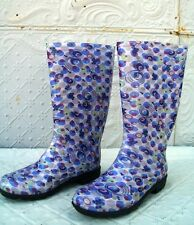 Women's Rubber Galoshes Rain Mud Boots - Pick From 6 Styles -