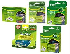 Tetra Pond Test **WHOLE** Range in 1 Listing Koi Pond Treatments Test Kits