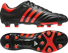 Adidas 11Core TRX FG Mens Football Boots Black Leather G60011 UK 6 to 12