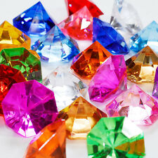 Acrylic Large Flat Diamond 1 inch table scatter confetti decoration 1lb