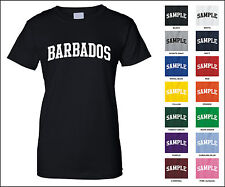 Country of Barbados College Letter Woman's T-shirt