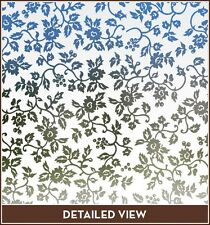 New Floral EDEN Frosted Semi Privacy Etched Glass Decorative Window & Door Film