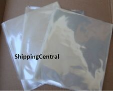 Shrink Film Wrap Flat Bags 12x18 CD Gifts Etc PVC Pieces 25 50 100 250 500 1000