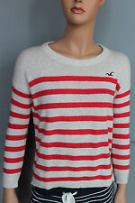 NWT HOLLISTER BY ABERCROMBIE FITCH WOMENS Knitted STRIPED SWEATER TOP HCO NEW