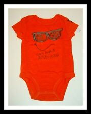 NWT 77KIDS BY AMERICAN EAGLE FUNNY FACE BODYSUIT BOYS 0-3 3-6 6-12 MONTHS