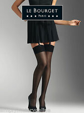 Le Bourget Bas Voilance Satine' 15 Denier Stockings  - Gloss  Luxurious soft