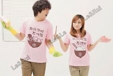 men women couple t shirt tops for 2015 summer fashion clothes casual printed T93