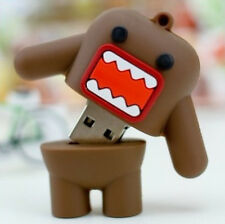 Cute domo warrior USB 2.0 Memory Stick Flash pen Drive 4GB 8GB 16GB 32GB DP162