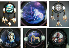 DREAM CATCHER wolf indian fairy unicorn fantasy TRADITIONAL DREAMCATCHER