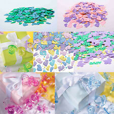 Baby Shower Table Confetti Decorations / Baby Party / Christening Sprinkles