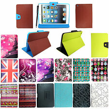 FOR APPLE IPAD MINI PU LEATHER MAGNETIC FLIP CASE PROTECTION COVER + FREE STYLUS