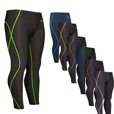 EMFRAA mens womens SKIN tights pants compression base layer running gear XS~2XL