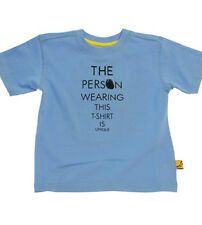 """""""The Person Wearing This T-Shirt is Unique"""" from Designer Funky Money (Ages 2-8)"""