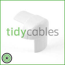 D-Line 30x15 External Bend for TV Cable Cover Wire Hiding Trunking (All Colours)
