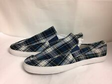 "American Rag ""Swift"" Canvas Slip On Shoe Multi Color Plaid New without Box"