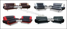 Olaf/Palermo 3 + 2 Faux Leather Sofa - Corner Sets + Chairs Also Available