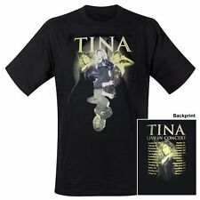 TINA TURNER - SOLID GOLD TOUR - OFFICIAL MENS T SHIRT