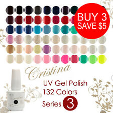 84 Colors 15ml Nail Polish Soak Off UV Gel Polish Pro Long-lasting Cristina