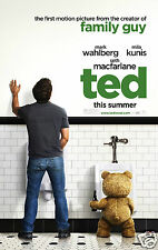 TED  film poster  Quality Photo print A4, or A5