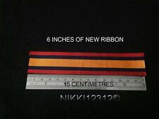 FULL SIZE BRITISH QUEENS SOUTH AFRICA MEDAL RIBBON QSA CHOICE LISTING