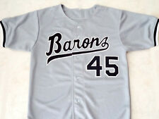 MICHAEL JORDAN #45 BIRMINGHAM BARONS BUTTON DOWN JERSEY GREY - ANY SIZE