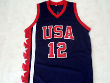 RAY ALLEN #12 TEAM USA JERSEY NEW NAVY BLUE - ANY SIZE