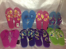 Envision Studio Bling Critter Flip Flops Lots of sizes and designs 7,8,9,11/12