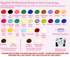 Renshaw 250g Roll out Sugarpaste Fondant in All colour for Cake Decoration