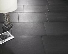 10-20mtrs Black Slate effect Floor and Wall tile Porcelain 60x30 Inc Delivery