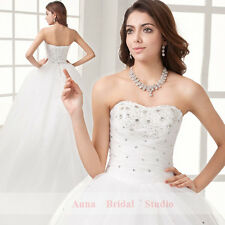 Make to Measure Wedding Dress Bridal Gown Deb Formal Dress Avlble in All Colours
