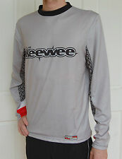 MTB Cycling Bike long sleeve Jersey Mens Womens Grey Black red