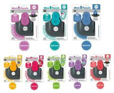 We R Memory Keepers MINI 8 PUNCH Border & Corner Paper Punch OPTIONS!